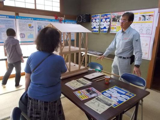 栗林コミュニティセンターで空き家と耐震相談会